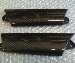 Door pull covers - Carbon fibre